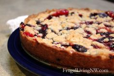 A Tale of Two Plum Cakes {recipes