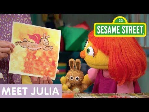 Sesame Street: Meet Julia (Full Clip | 10 Min) - YouTube