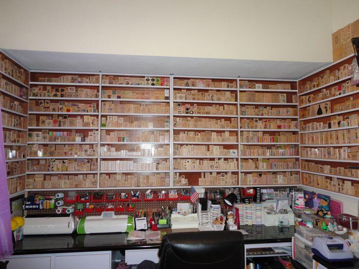 42 Best Scrapbook Rooms Organization Images On Pinterest