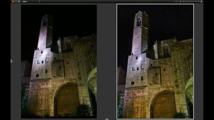 Cómo ajustar una fotografía nocturna con Capture One Pro (Videotutorial)