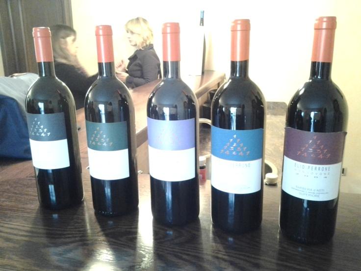 i vini azienda Elio Perrone