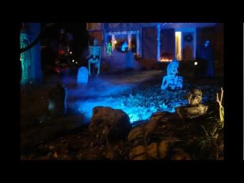 2011 zombie hollow haunted house yard haunt