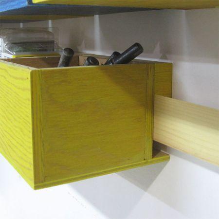 HOME DZINE Home DIY | Easy workshop storage solution