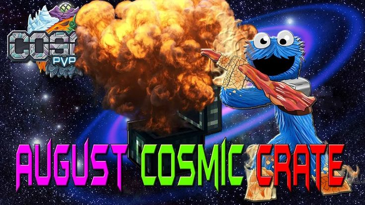 August Cosmic Crate on CosmicPVP