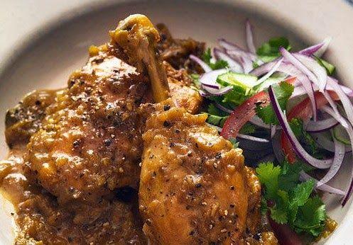 Black Pepper Chicken   Bengali Recipe