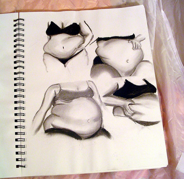 sketchbook bellies by tiffany gholar: Art Tattoo, Sketchbooks Belly, Artworks Inspiration, Art Inspiration, Curvy Girls, Art Journals, Bbw Art, Sketchbooks Ideas, Photo