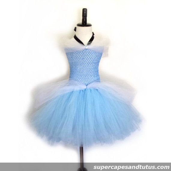 Disney Cinderella Inspired Tutu Costume Dress