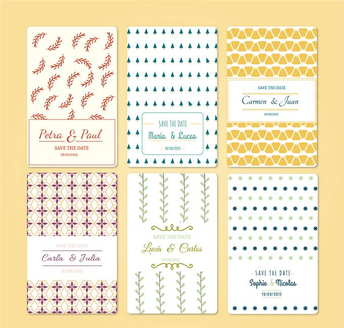 554 best free vector images on Pinterest Free vector art, Free - best of invitation card vector art