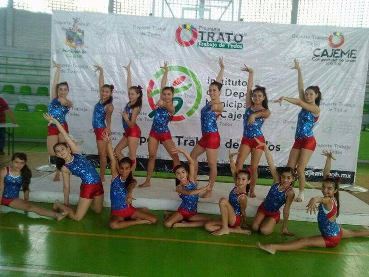 Participando con el instituto del deporte de Cajeme.. en Ciudad Obregon