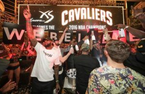 Check Out How The Cavs Turned Up Last Night After Winning The Championship