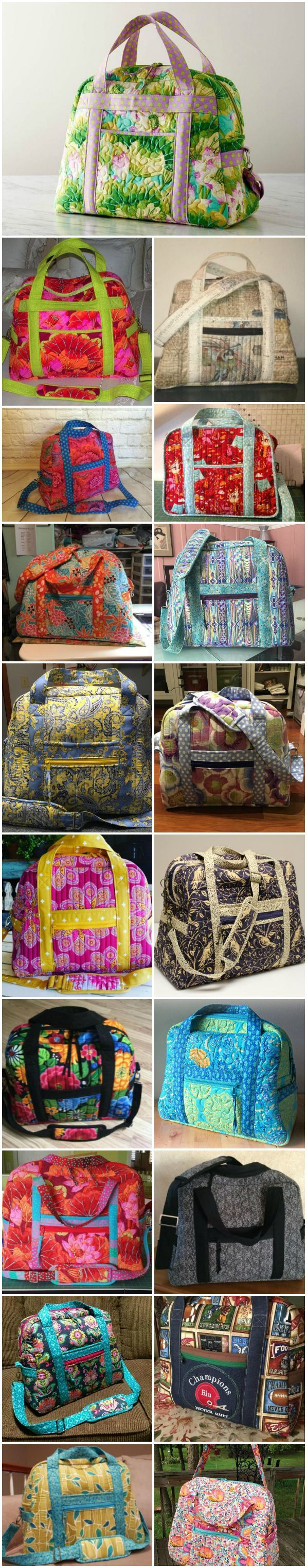 Learn how to sew the Ultimate Travel Bag.  So many great projects to check out.  Love this video class!