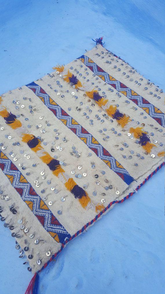Coussin 001 KILIM tribal traditionnel Vintage par Sheherazadesign