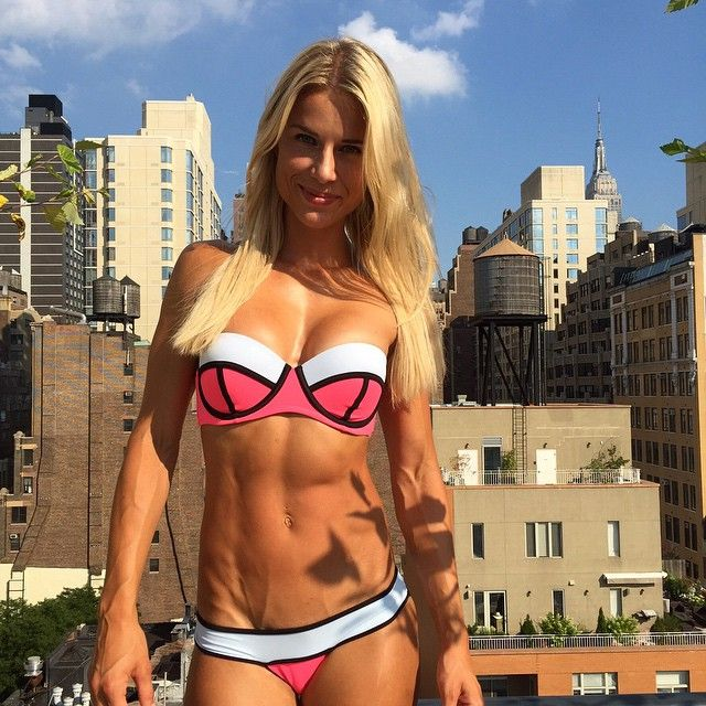 Adrienne Koleszar Bikini Athlete Amp Cop 21 Pics
