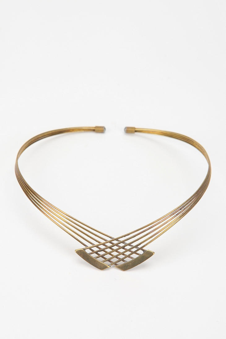 Urban Renewal Vintage Collar Necklace  #UrbanOutfitters