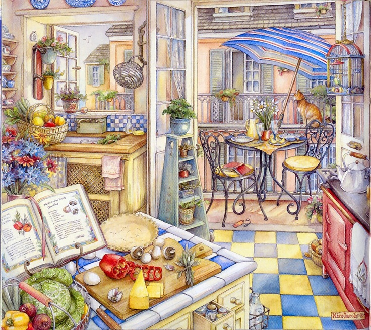 ♥ Kitchen Balcony