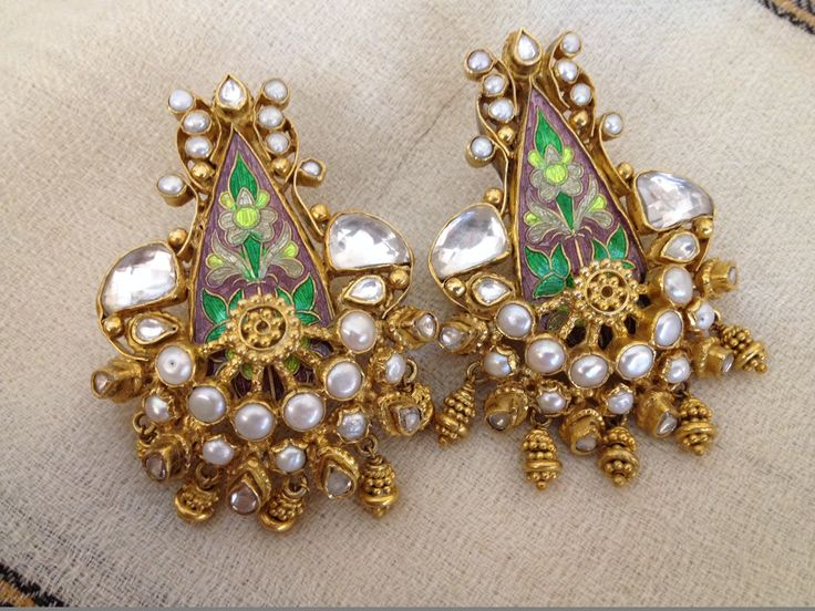 Traditional with a twist #earrings #Indian #jewellery #style