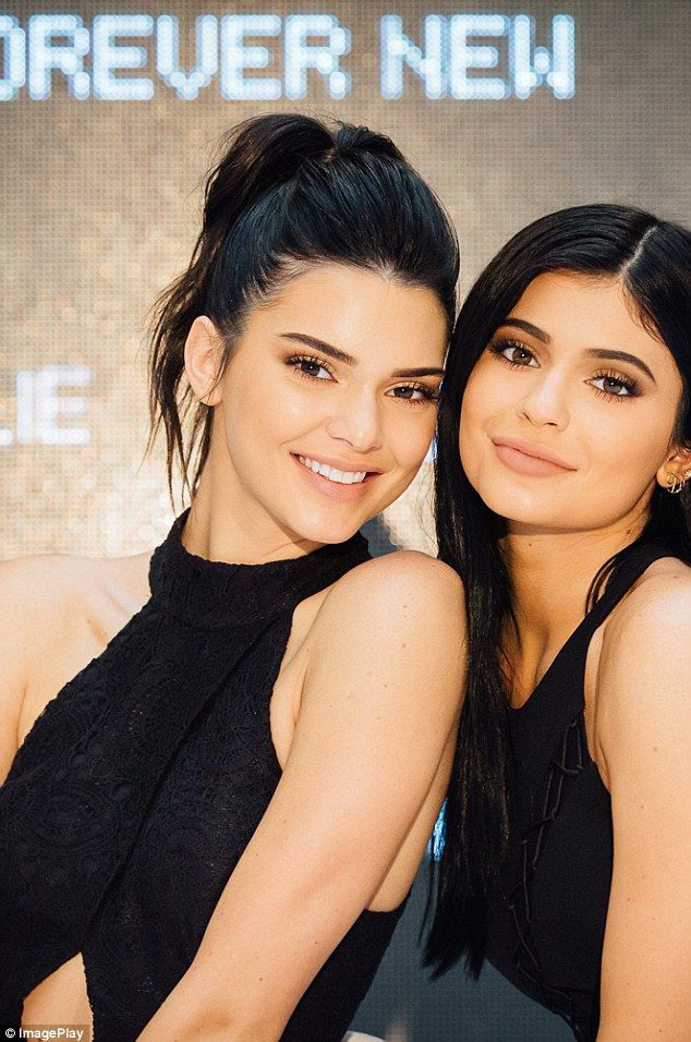 Busy girl: Kylie has only just returned from Australia where she and Kendall were promoting a clothing range