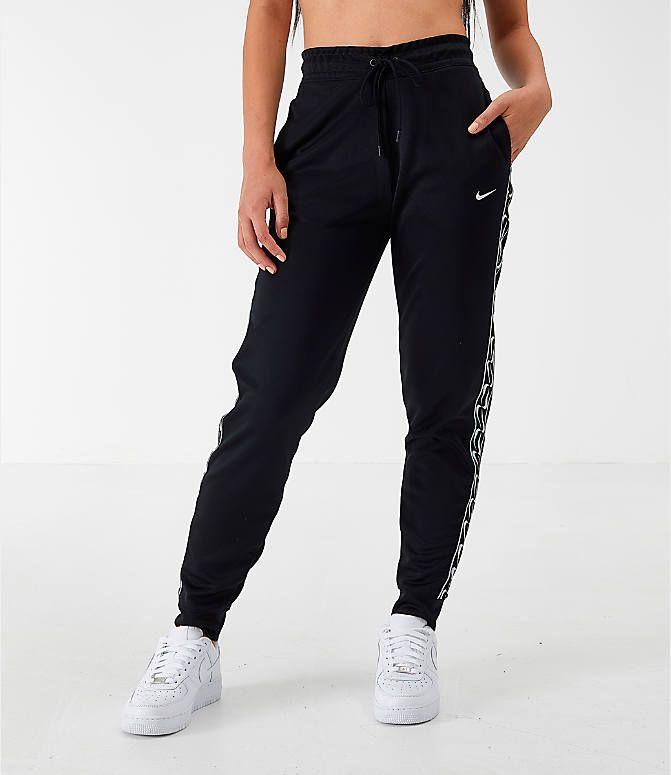 Women S Nike Sportswear Logo Jogger Pants Finish Line Women Jogger Pants Nike Outfits Sporty Outfits
