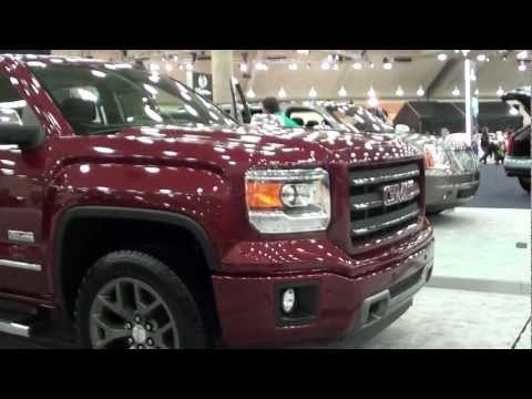 2013 MotorTrend Car Show - NEW Re-designed 2014 GMC Sierra All Terrain (Chevy Silverado) Youtube video #Chevy #Chevrolet #GMC #Truck #2014 #SEMA #Pickup #SUV #AVTProjects