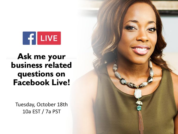 Ask Me Your Business + Mindfulness Related Questions on Facebook LIVE! - You have questions and I'm taking the time to answering them next Tuesday  on Facebook LIVE.