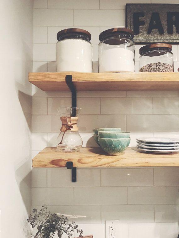 1000 ideas about shelf brackets on pinterest shelves open shelving and toilet shelves. Black Bedroom Furniture Sets. Home Design Ideas