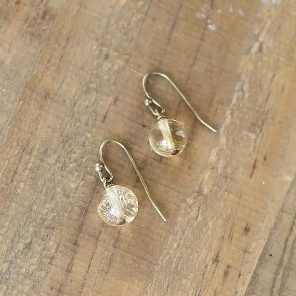 Citrine Earrings #yellow #earrings #citrine