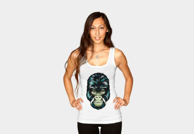 Gorilla Tank Top - Design By Humans