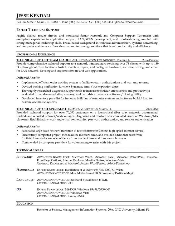 customer support specialist sample resume fundraising coordinator mis sensational ideas tech service objective examples
