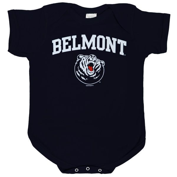 Belmont Bruins Unisex Infant Big Fan Bodysuit - Navy - $14.99
