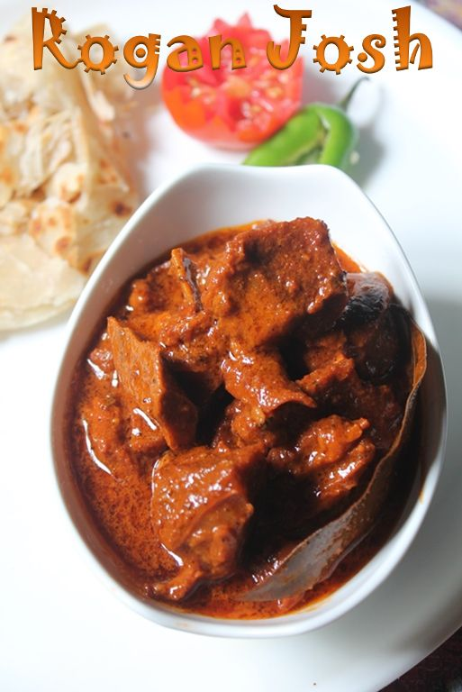 Seems like authentic mutton rogan josh!