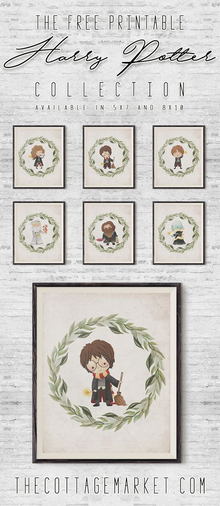 It's FREE PRINTABLE time and I have a feeling that you are going to find this Free Printable Harry Potter Collection Magical! You are going to find Harry, Ron, Hermione and the whole cast of characters to form a 6 Free Printable Set. Perfect for Halloween Decorations but these are so cute I have a …