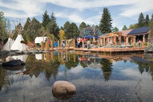 Photo of The Paul Smith Children's Village at the Cheyenne Botanic Gardens - (Matt Idler)