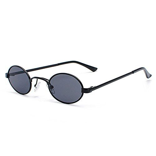TIANLIANG04 Lunettes De Soleil Femme Ovale Surdimensionnée Fashion Cat Eye Sunglasses Uv400,Bleu Clair