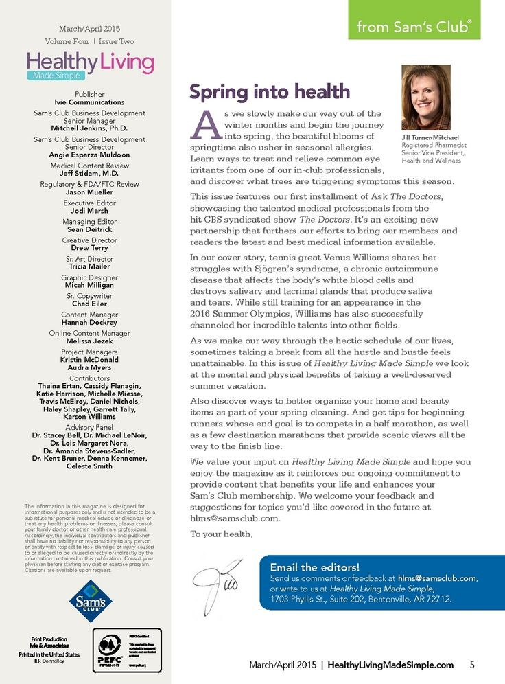 March/April 2015 Issue - HLMS