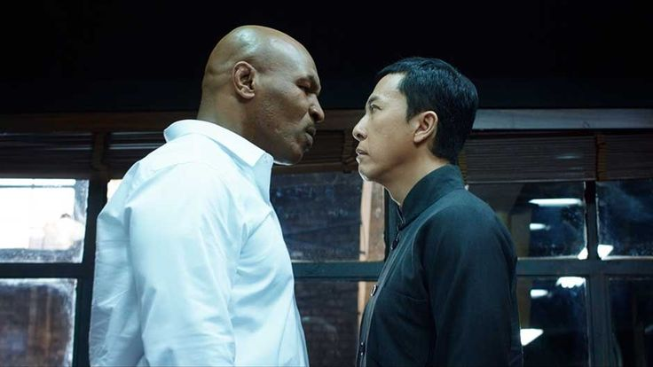 Let's get ready to rumble! Yip Man goes mano a mano with Mike Tyson in this intense trailer debut. (Yes, that Mike Tyson.)