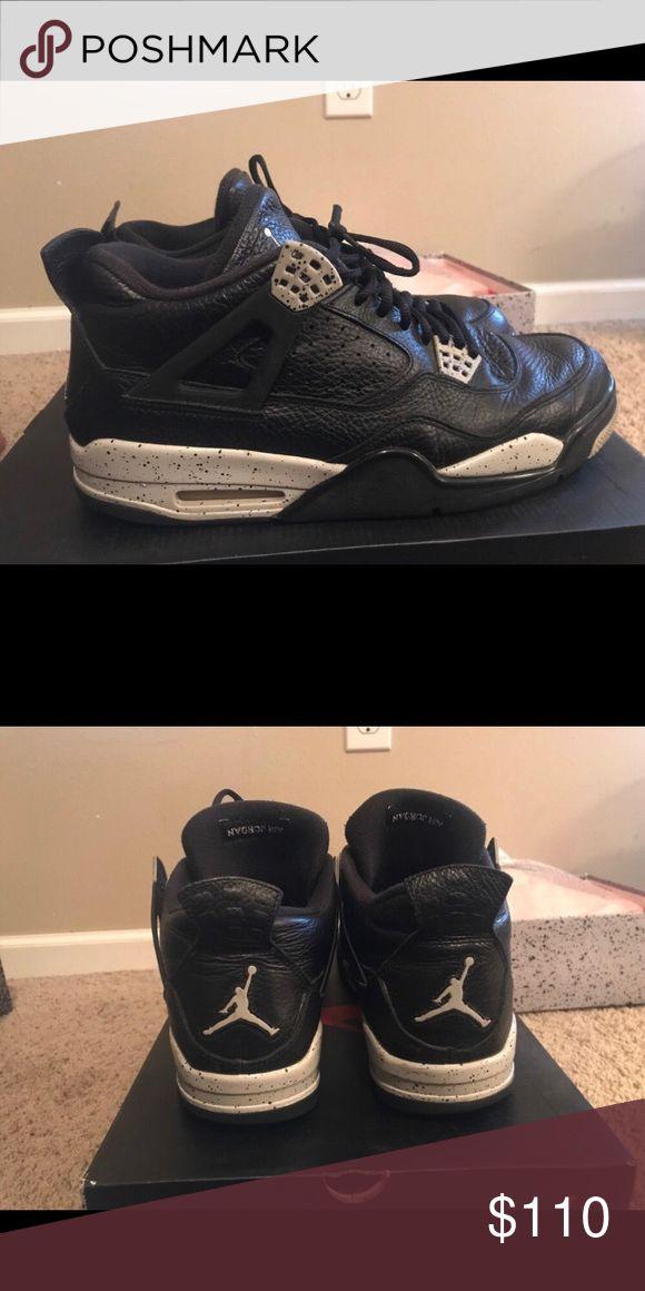"""Air Jordan Retro 4 """"Oreo"""" Air Jordan Retro 4 """"Oreo"""" Air Jordan Shoes Sneakers"""