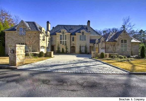2.8 Million Dollar Atlanta Home Ex-NBA Star Lost in Foreclosure (Click through link to see slide show of interior. Especially like the laundry room.)