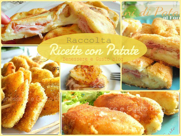 Una prima raccolta per ricette con Patate, idee sfiziose e veloci.