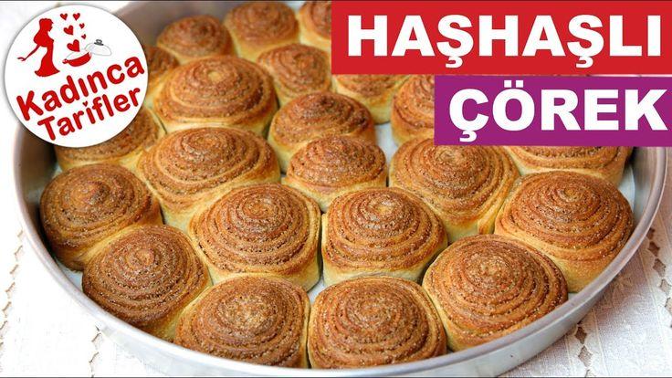 Haşhaşlı Tatlı Çörek Tarifi | Haşhaşlı Çörek Nasıl Yapılır | Kadınca Tar...