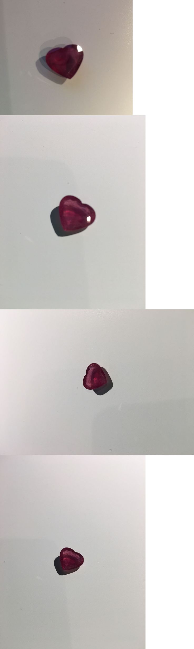 Natural Rubies 3827: Loose Heart Shaped Natural Ruby 5.34 Ct. -> BUY IT NOW ONLY: $65 on eBay!