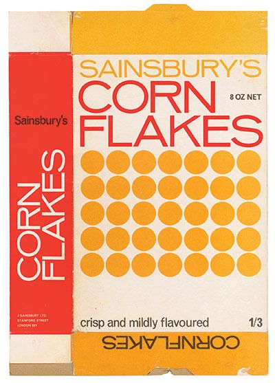 corn flakes circa 1960's