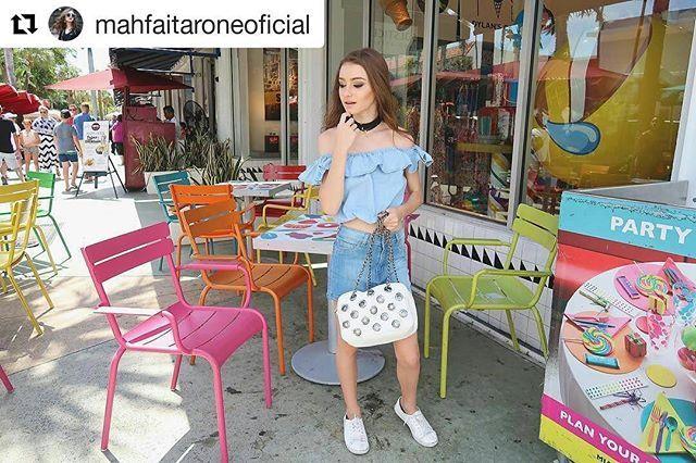 A linda Maitê Faitarone e a sua bolsa da coleção #SabrinaSatoByBiro diretamente…