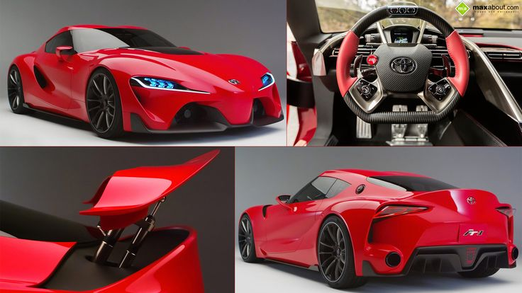 Toyota-FT-1 Concept