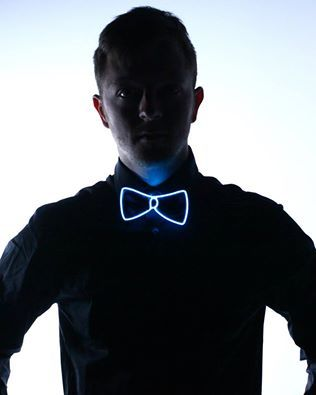 #Boystoys #theBmag #gift Light Up Bow Tie by Electric Styles The perfect accessory for #barbers and #barmen. Also, our suggestion for #christmas gift.