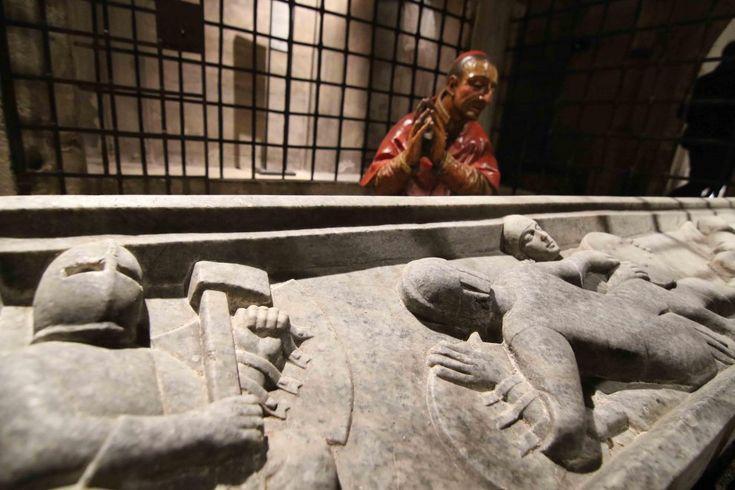 Dopo cinquant'anni riapre la cripta della chiesa del Santo Sepolcro a Milano, a fianco del complesso architettonico che comprende la Biblioteca Ambrosiana.