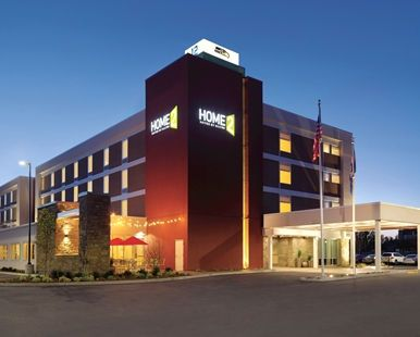 Home2 Suites by Hilton Bellingham Airport Hotel, WA - Exterior at Night