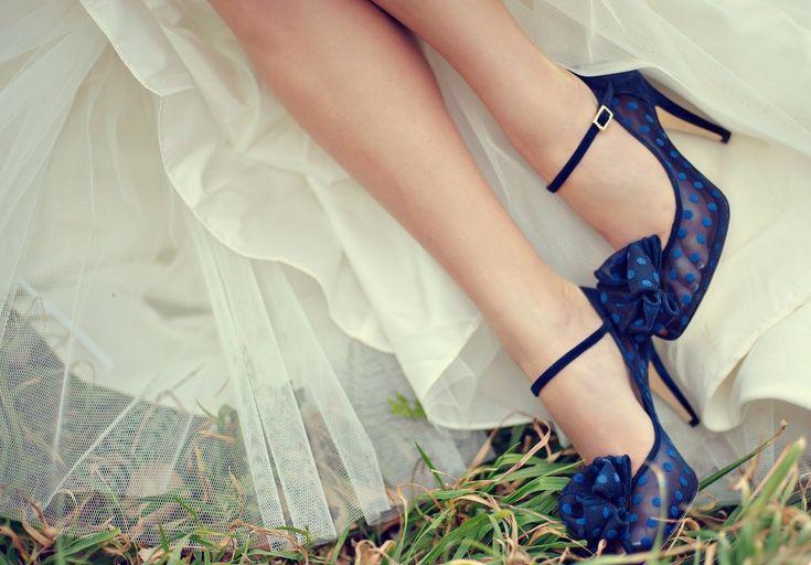 Zapatos de novia: color y tendencia