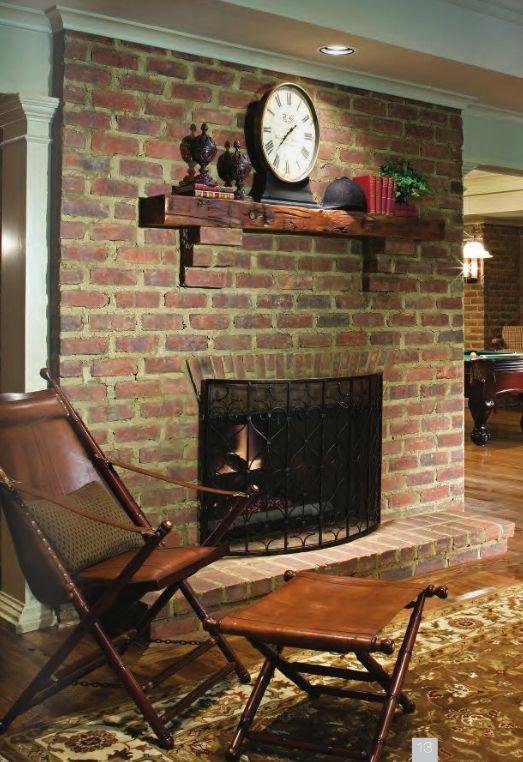 Beautiful Custom And Traditional Brick Fireplace By Glen Gery. Brick  FireplacesInterior IdeasBricksHome ...