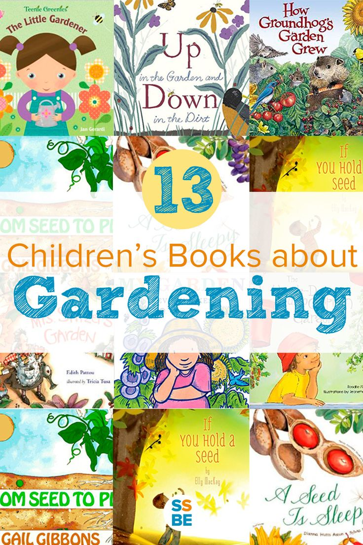 the best books about gardening