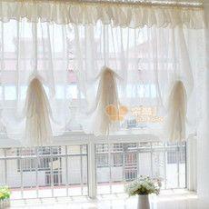 Внешнеторговые небольшие цветочные кружева занавес износа стержня красивые экраны занавеской потянув воздушный шар занавес гостиной окна спальни залив шторы - глобальная станция Taobao